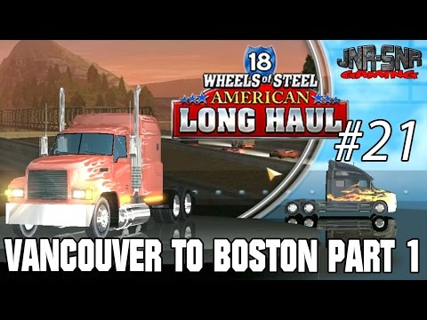 18 WOS ALH   Vancouver to Boston Excavator   Part 1