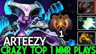 Arteezy [Faceless Void] Crazy Top 1 MMR Situational Build Cancer Gameplay 7.22 Dota 2