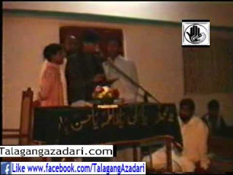 Majlis Zakir Zeeshan Aalim Talagang