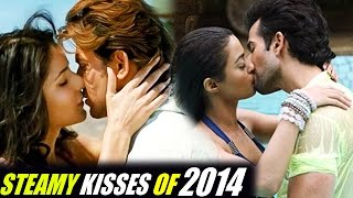 Best Bollywood Kisses - 5 Steamy Bollywood Kisses Of 2014