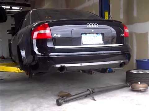 Start Up 2000 Audi A6 4 2l 6 Speed Custom Dual Exhaust