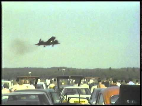 SR71 Blackbird Mildenhall 1984 (No Music & Higher Quality)