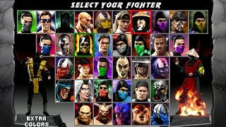 Mortal Kombat Quadrilogy v1.02 BETA by Halil Scorpion with download link 13.43 MB
