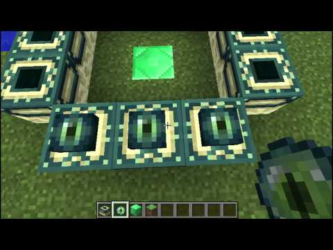 Minecraft Tutorial - How to make a Portal to the End! (Works in 1.4.6/1.4.7) [PC]