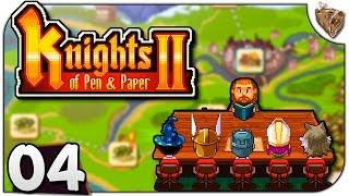 """Knights of Pen and Paper 2 #04 """"Masmorra à antiga!"""" - Gameplay Português PT-BR"""