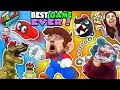 SUPER MARIO ODYSSEY ? FGTEEV! DINOSAURS, FROGS & CHOMP CHAINS R BOSS! BEST VIDEO GAME EVER! (Pt. 1)
