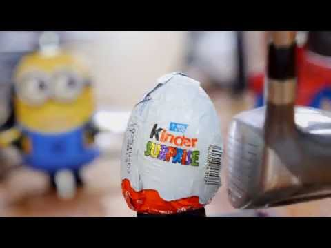 THE BEST KINDER SURPRISE EGGS opening! Flaming Chocolate Toy Eggs with Cars 2 Mater!
