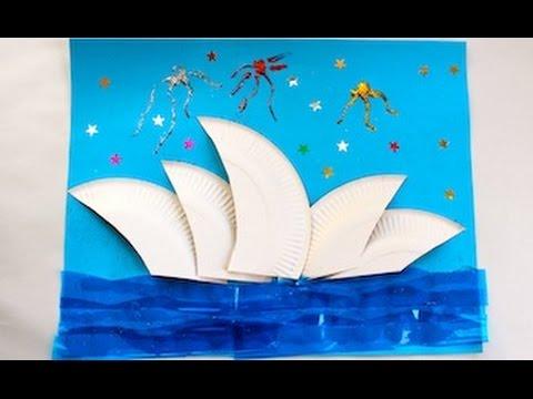 Craft Sydney Opera House For Kids