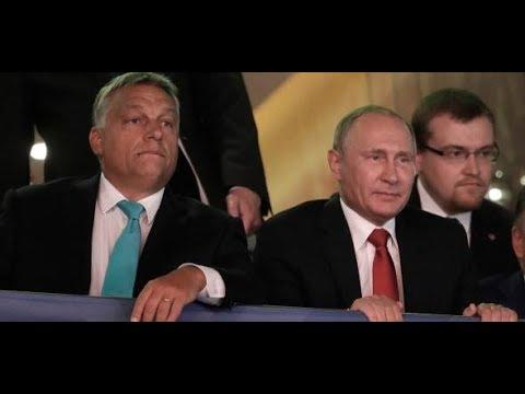 Wladimir Putin bei Victor Orban: Zwei Handschlagpolitiker gegen den Rest der Welt