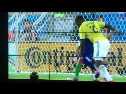 Japan vs colombia 1-4 World cup 2014