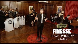 Download Lagu Finesse - Bruno Mars ('40s Swing Cover) ft. Will Jay Gratis STAFABAND