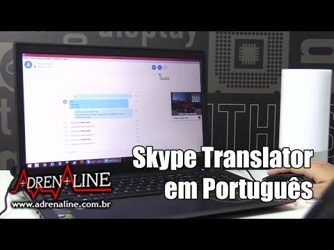 Experimentamos o Skype Translator de novo - agora em português do Brasil!