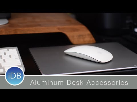 Satechi's Desktop Accessories are Tricked Out in Aluminum - USB-C HDMI, Mousepad, & Universal Stand