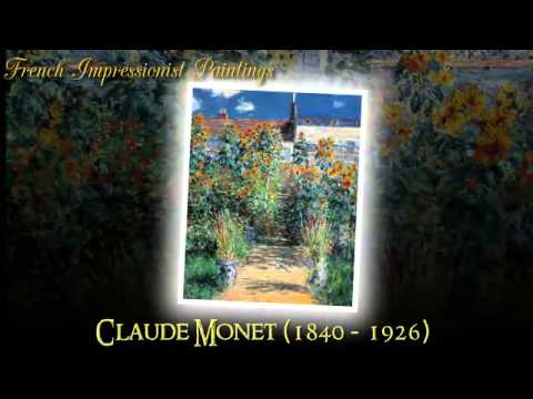 Claude Monet Famous Impressionist Paintings   Video 29 of 46