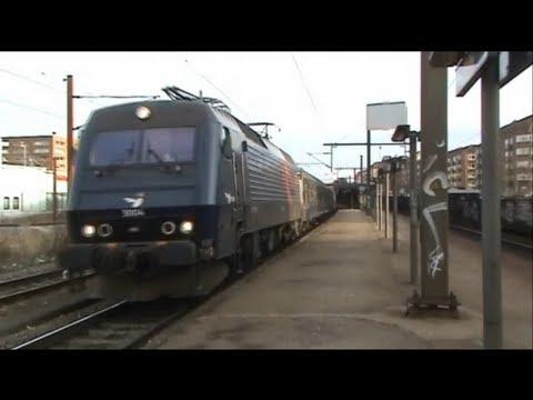 Danmarks travleste strækning mellem København og Roskilde. Klip fra Valby, Danshøj og Hvidovre stationer. Med DSB IC4, IC3, Dobbeltdækkertog, EA og ME med bn...
