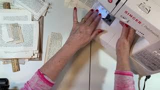 Re-Imagined Scraps - Book Pages - Part 1