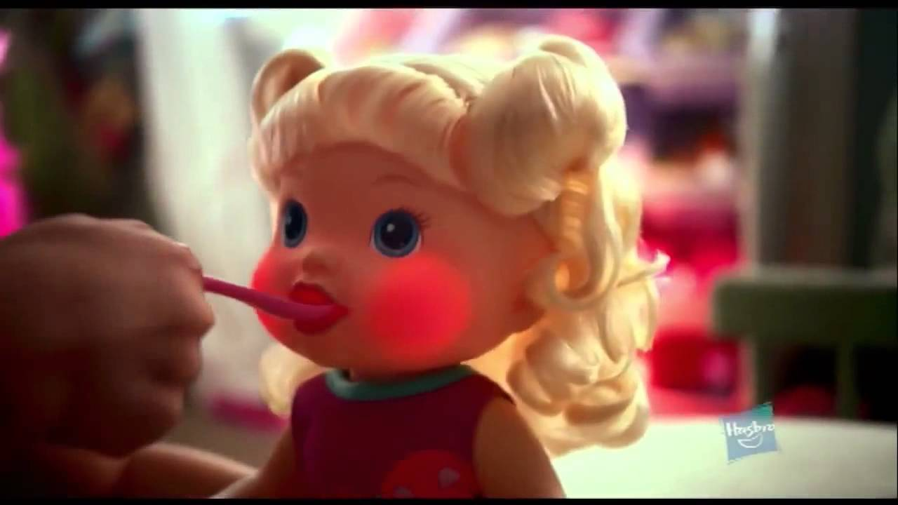 Hasbro Baby Alive Make Me Better Baby Doll Youtube