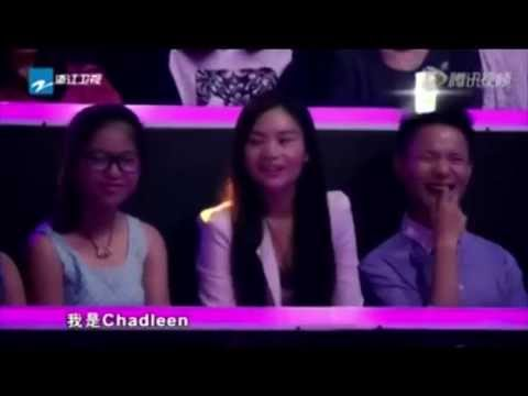 """Proud Pinay performed and shared her story on """"I Dream China Show"""" Footprints In The Sand. 2014"""