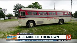 """A League of Their Own"" bus"