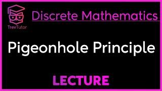 [Discrete Math 1] Pigeonhole Principle