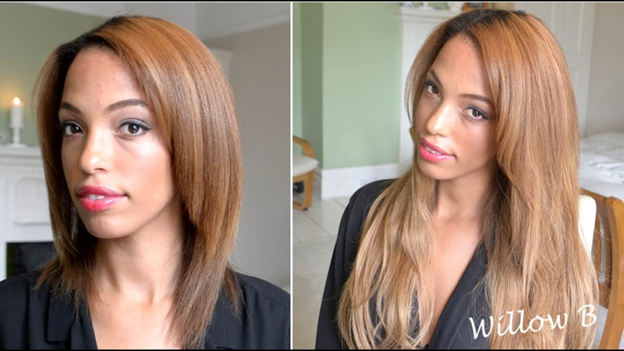 how to make hair look longer without extensions
