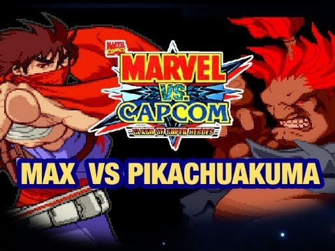 Marvel vs Capcom: Max VS Pikachuakuma Part 1