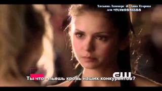 The Vampire Diaries Extended Promo - 4.16 - Bring It On (RUS SUB)