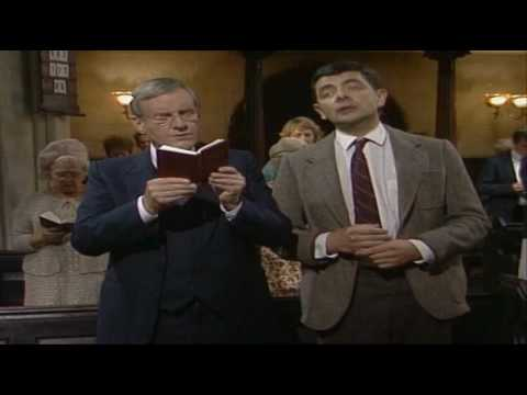 Mr.bean In Church Funny On Sunday  best English Comedy Series Jokes Film movies video
