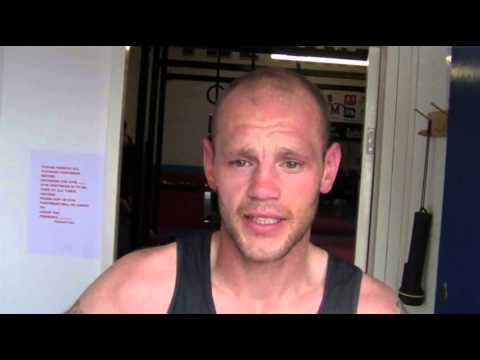 Interview with Kevin Hooper in preperation for Liam Walsh fight