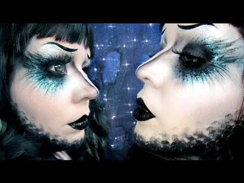 Edgar Allan Poe s Raven Makeup Tutorial