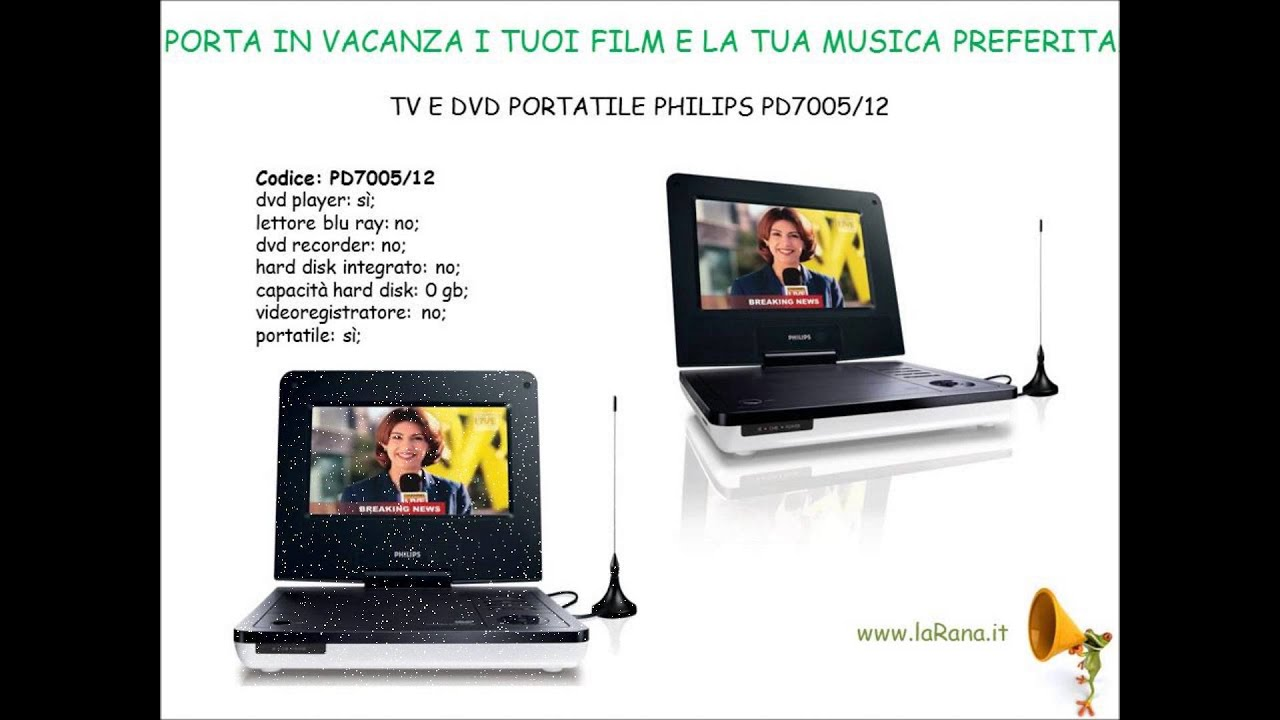 Dvd Portatil Philips Com tv tv e Dvd Portatile Philips