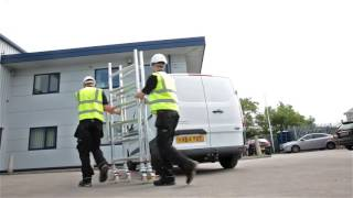 Zarges Quick Folding Mobile Scaffold Tower