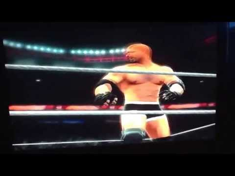 WWE'13  CAW Goldberg's Entrance And Finishers