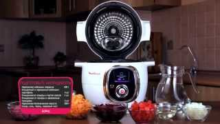 Мультиварка MOULINEX Cook4me рецепт борща