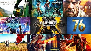 BEST UPCOMING VIDEO GAMES IN 2018 & 2019 (@E3)