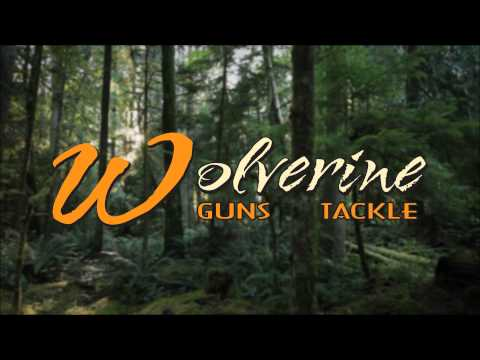 Wolverine Guns & Tackle Logo Animation