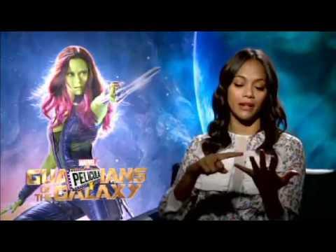 Zoe Saldaña: Actriz Caribeña-entrevista en español