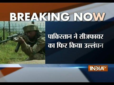 Pakistan troops again violates ceasefire in Jammu