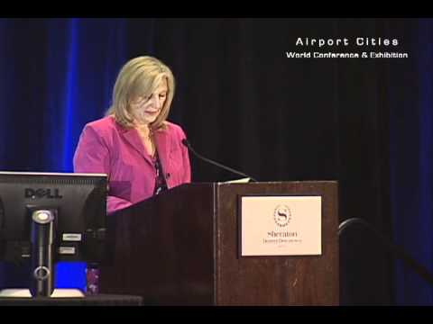 Kim Day, manager of aviation at Denver International Airport, hosts ACE 2012