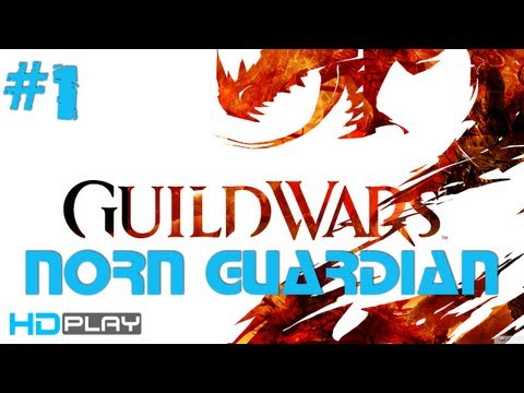 Guild Wars 2 - Norn Guardian Starting Area | Leveling Part 1