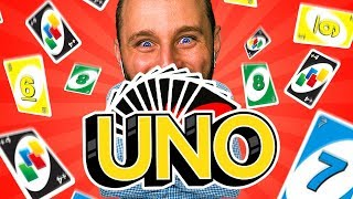 UNO: WHO CAN LOSE IT ALL AND WIN?! (Uno Card Game)