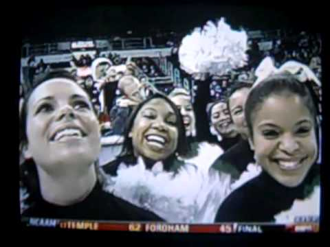 Providence Cheerleaders on ESPNU Video
