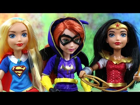 Nowa Uczennica| DC Super Hero Girls | Bajki dla dzieci