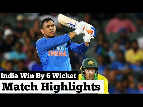India win by 6 wickets 2nd ODI match highlights | India vs Australia 2nd One Day match highlights |