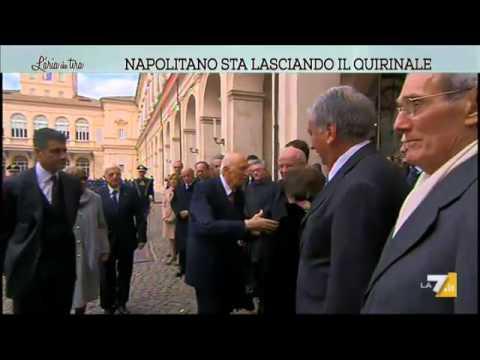 Il saluto di Giorgio Napolitano. Dopo 9 anni lascia il Quirinale