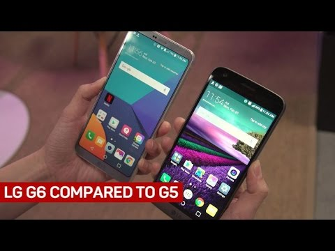 LG G6 And G5 Compared