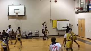 Justin Smith's Highlights From 8th Grade Summer Basketball