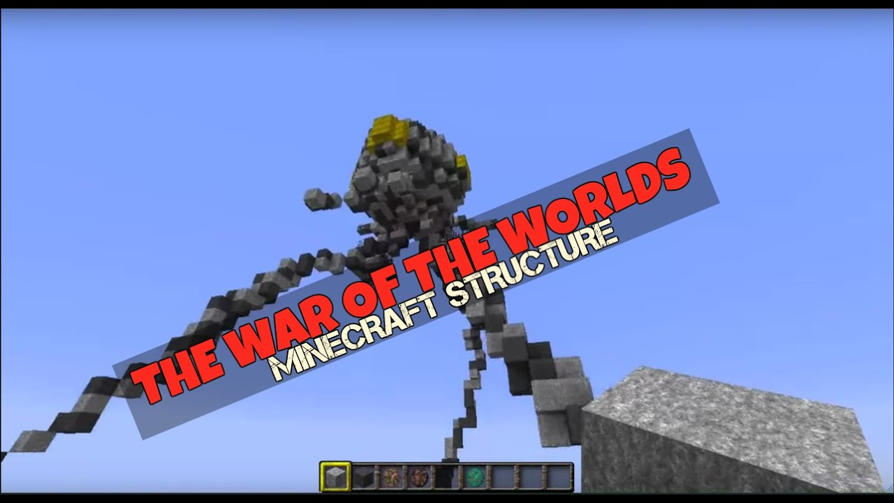War of The Worlds Tripod Minecraft War of The Worlds Tripod