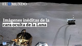 Imágenes inéditas de la cara oculta de la Luna
