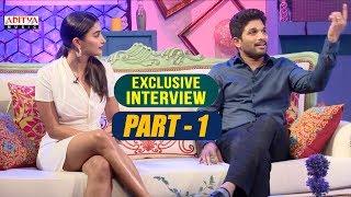 Exclusive Interview With Allu Arjun & Pooja Hegde | Part-01  | Aditya Music | DSP | Harish Shankar